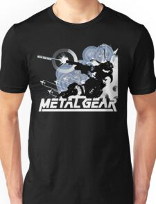 Metal Gear - Blue Unisex T-Shirt