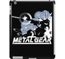 Metal Gear - Blue iPad Case/Skin