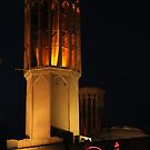Wind Tower at Night, Yazd, Iran by Jane McDougall