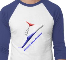 NASA Concept Blended Wing Aircraft  T-shirt Men's Baseball ¾ T-Shirt