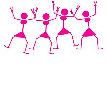 Cool Dancing Party Girls by Style-O-Mat
