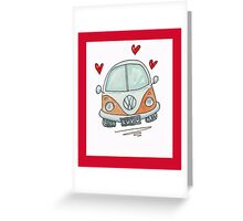 Camper Van with Love  Greeting Card