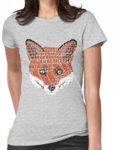 What does the fox say? Womens Fitted T-Shirt