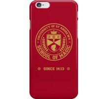 University of St Andrews School of Magic ver 2.0 iPhone Case/Skin