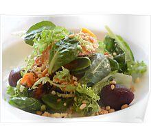 Pine Nut & Beetroot Salad Poster