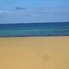 Tri colour beach scene by AmandaWitt