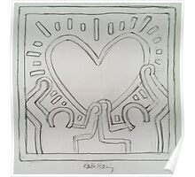 Ode to Keith Haring Poster