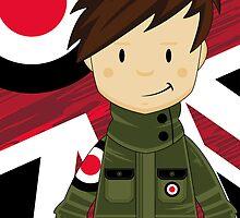 Cool Mod Boy by MurphyCreative