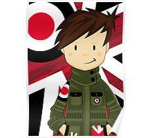 Cool Mod Boy Poster