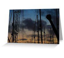 #crane Greeting Card