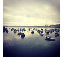 Gorey Boats Photographic Print