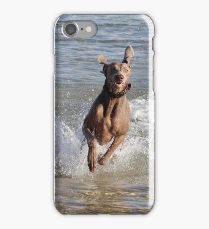 "Beach Dog ""Gerzelda"" iPhone Case/Skin"
