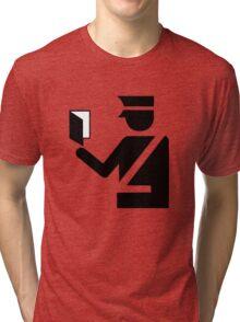 Immigration Symbol Tri-blend T-Shirt