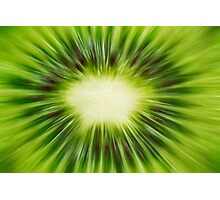 Abstract Kiwi Photographic Print