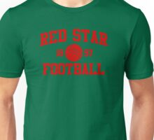 Red Star Football Athletic College Style 2 Color Unisex T-Shirt