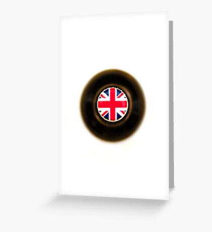 British Beer Greeting Card