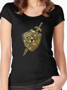 THE LEGEND ZELDA Women's Fitted Scoop T-Shirt