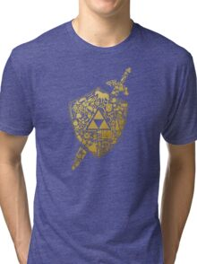 THE LEGEND ZELDA Tri-blend T-Shirt