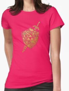 THE LEGEND ZELDA Womens Fitted T-Shirt