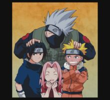 Naruto Team 7 :) by aeebou