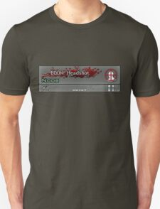 CoD MW2 Boom Headshot Callsign T-Shirt