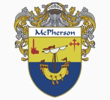 McPherson Coat of Arms/Family Crest by William Martin
