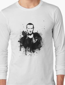 9th Doctor (Christopher Eccleston) Long Sleeve T-Shirt