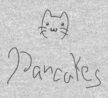 Cats and Pancakes One Piece - Long Sleeve