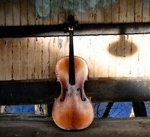 Cello Neck Blues by ArtbyDigman