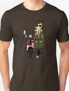 Mod Boy & Retro Scooter T-Shirt
