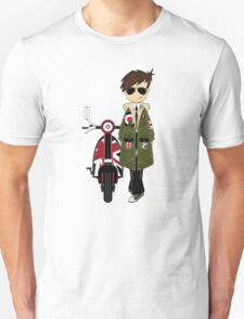 Mod Boy & Retro Scooter Unisex T-Shirt