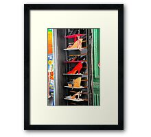 Six Pairs of Shoes Framed Print
