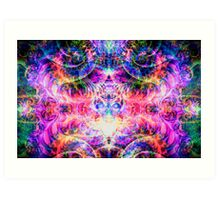 Entheogenic Enchantress  Art Print