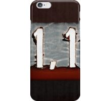1,1 iPhone Case/Skin