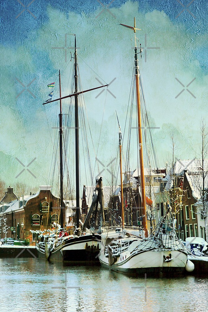 Sailboats by AnnieSnel