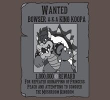 Wanted Bowser by kalilak