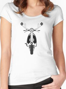 Retro Mod Scooter Women's Fitted Scoop T-Shirt