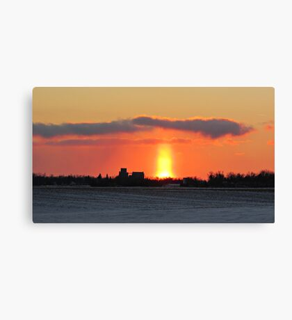 Prairie Geyser Canvas Print