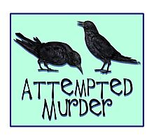 A Case of Attempted Murder Photographic Print