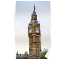 Big Ben, famous London tourist attraction Poster
