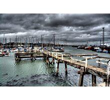Port Of Blyth Photographic Print