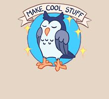 Make Cool Stuff owl emblem Unisex T-Shirt