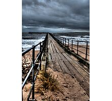Blyth South Pier Photographic Print
