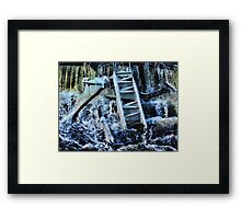 Climbing Life's Ladder Framed Print