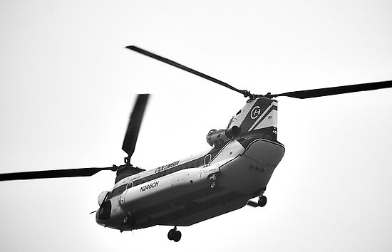 Columbia Helicopter by Cee Neuner