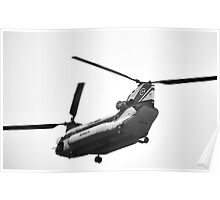 Columbia Helicopter Poster