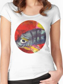 baby fish Women's Fitted Scoop T-Shirt