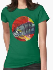 baby fish Womens Fitted T-Shirt