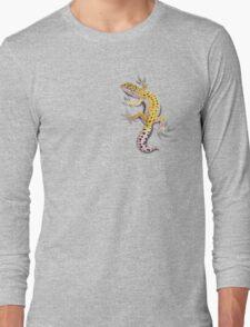Leopard Gecko Clinger Long Sleeve T-Shirt