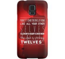 The day of the Doctor Samsung Galaxy Case/Skin